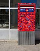 Canadian post box