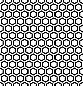 image of hexagon pattern  - Honeycomb pattern - JPG