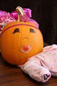 Cute Girl Pumpkin