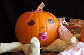 Cute Pumpkin Baby