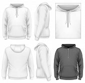 image of hooded sweatshirt  - Photo - JPG
