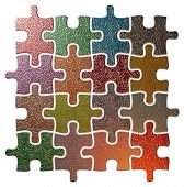 Multi Colour Puzzle