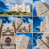 Castel Del Monte Collage
