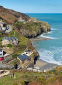 St Agnes North Cornwall England UK between Newquay and St Ives