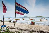 Low Tide On Rawai Beach, Phuket, Thailand