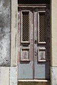 Lisbon, Portugal - May 30th, 2013: Old door in Lisbon, Portugal