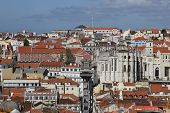 Old downtown of Lisbon, Portugal