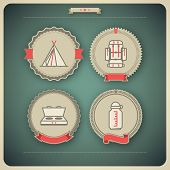 picture of tipi  - 4 vector icons related to ships boats and other objects/symbols in relation to boat swimming pictured here from left to right top to bottom: 