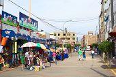 Calle Narciso de la Colina in Lima, Peru