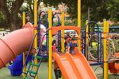 Playground in Miraflores, Lima, Peru