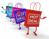 Hot Deal Bag That Shows Sales, Bargains, And Deals