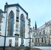 The Saint Michael Chapel And St. Elisabeth Cathedral (kosice, Slovakia)