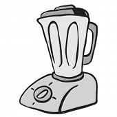 grey blender cartoon