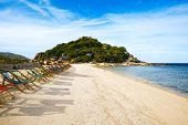 stock photo of yuan  - Thailand Koh Nang Yuan beach and resort - JPG