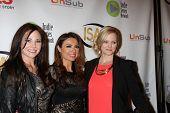 LOS ANGELES - APR 2:  Jade Harlow, Lily Melgar, Martha Madison at the 2014 Indie Series Awards at El