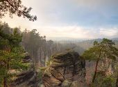 pic of bohemian  - Beautiful rocks in Bohemian Paradise - JPG