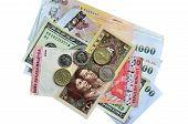 Banknote, Coin, Us Dollar, Thai Baht, Malaysian Ringit, Euro Coin