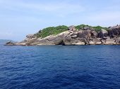 Hin Rua Bai, The Symbol Of Similan Island In Thailand