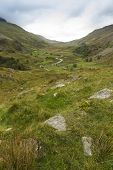 Nant Ffrancon Pass, From Ogwen Cottage