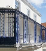 French Style Iron Balcony Railings