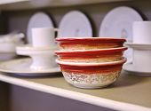 picture of thrift store  - Vintage Stack of Bowls - JPG