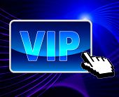 Vip Online Means World Wide Web And Important