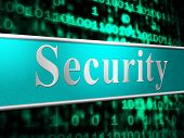 Secure Security Means Restricted Protect And Privacy