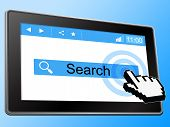 Online Search Indicates World Wide Web And Analyse