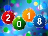 New Year Shows Two Thosand Eighteen And Annual