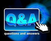 Q And A Means Frequently Asked Questions And Web