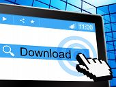 Online Download Means World Wide Web And Application