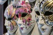 Venetian Carnival Masks.