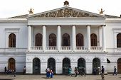 Sucre National Theater in Quito, Ecuador