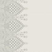 Ornamental seamless stripe, decorative element