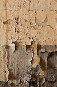 Old Cracked And Dilapidated Wall