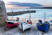 Fishing Boats At Sennen Cove