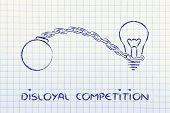 Unfair Competition, Emprisoning Ideas