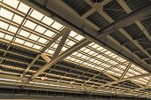 Train Station Structure Roof