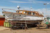 Yacht Under Repairs
