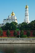 The Bell tower Of The Ivan The Great And Archangelic Cathedral Of The Moscow Kremlin