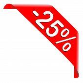 25 Percent Discount Offer