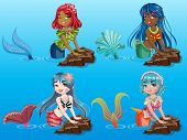 Beauty Mermaids