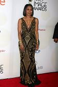 LOS ANGELES - FEB 6:  Angela Bassett at the 46th NAACP Image Awards Arrivals at a Pasadena Convention Center on February 6, 2015 in Pasadena, CA