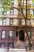 image of west village  - West Village in New York Manhattan building facades USA NYC - JPG
