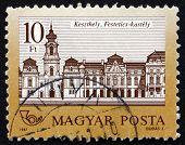 Postage Stamp Hungary 1987 Festetics Castle, Keszthely