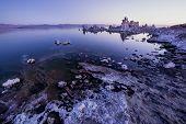 Mono Lake At Sunrise.
