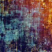 Art grunge vintage textured background. With different color patterns: yellow (beige); brown; blue; purple (violet); cyan