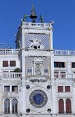 picture of lightning-rod  - astronomical clock with zodiac signs and the winged Lion of Venice - JPG
