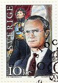 Bernadotte Stamp