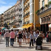 Crowded Street, Valencia
